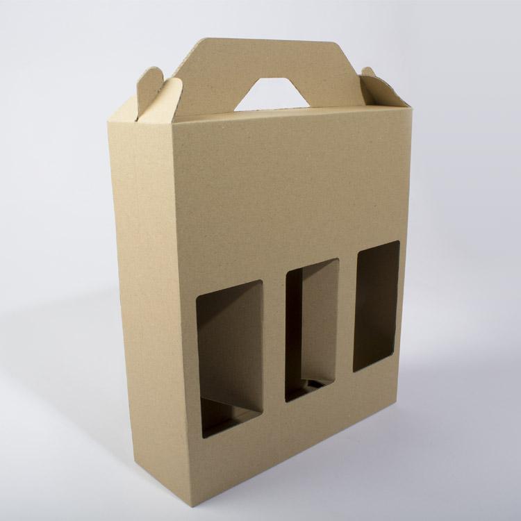 Boîte en carton pour bouteilles