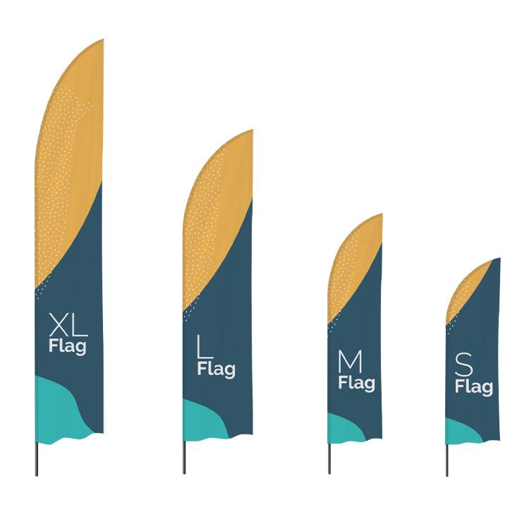 Tailles de drapeau