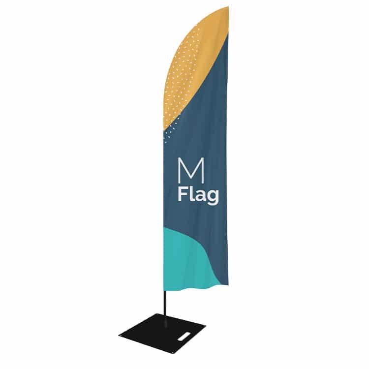 Drapeau Publicitaire forme plume