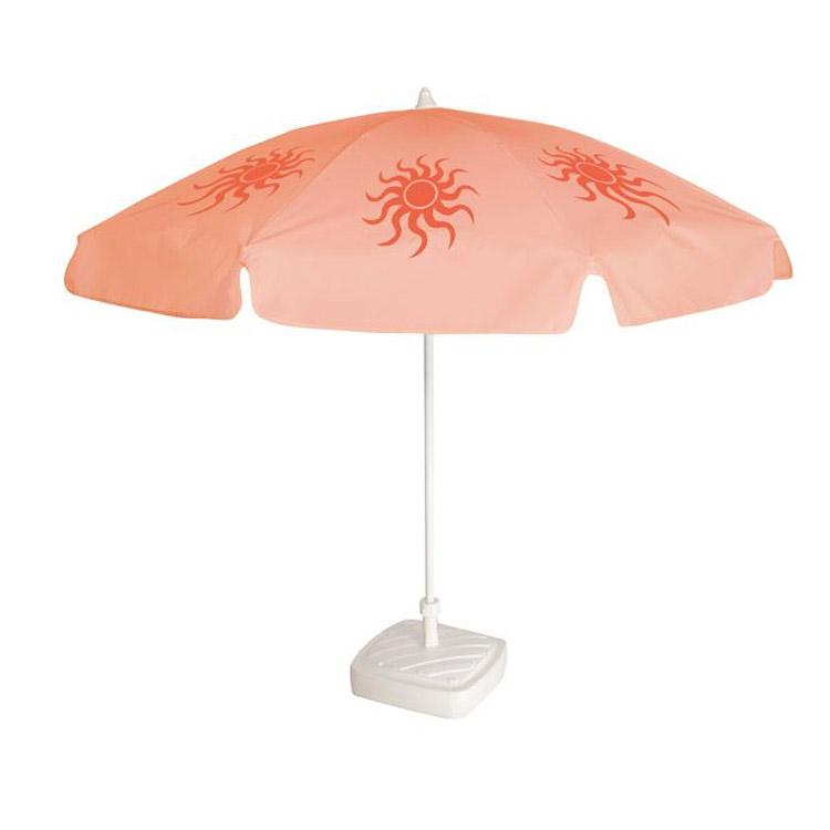 Parasol rond avec personnalisation 8 pans