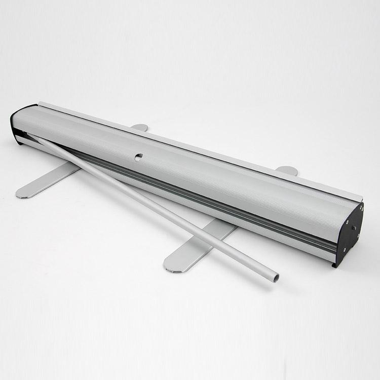 Enrouelur en aluminium avec visuel en maille recyclée