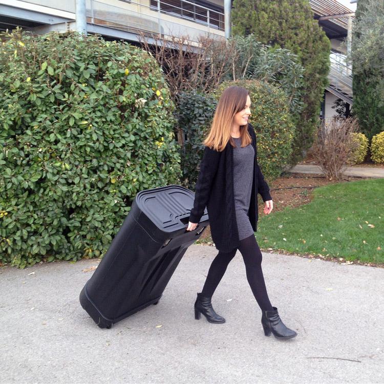 Emportez tout votre kit à l'intérieur d'une seule valise de transport (comptoir)