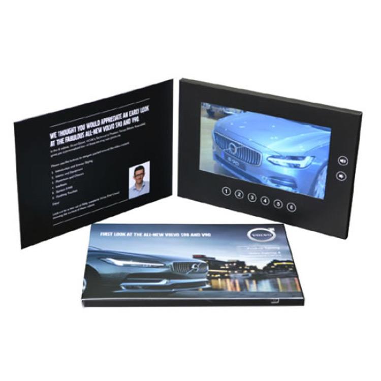 Brochure vidéo format paysage