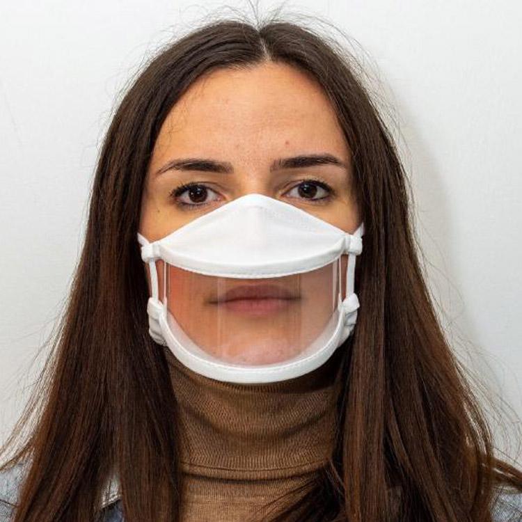masque de protection avec fenêtre anti buée