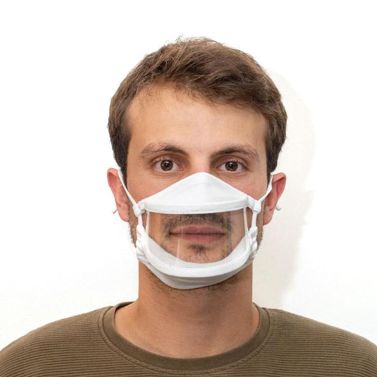 Masque de protection à fenêtre