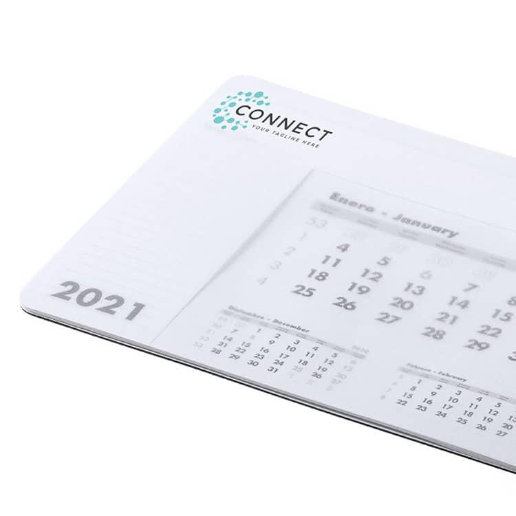 Tapis de souris personnalisable avec calendrier