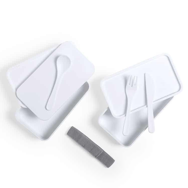 Lunch Box en PP antibactérienne avec couvercles