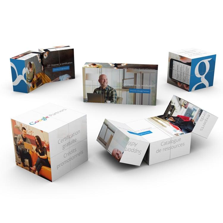 Magic cube pour une communication 3D