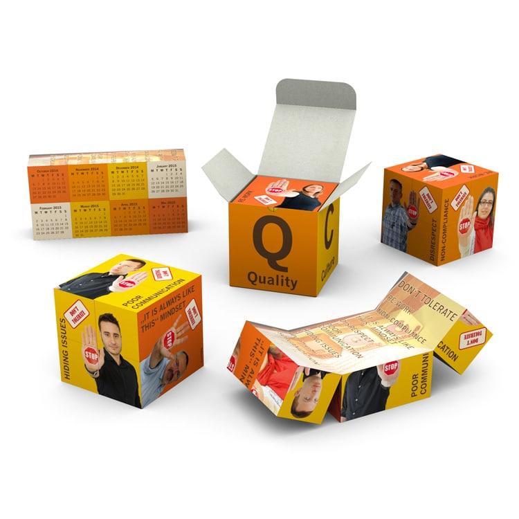 Magic cube avec boite personnalisée