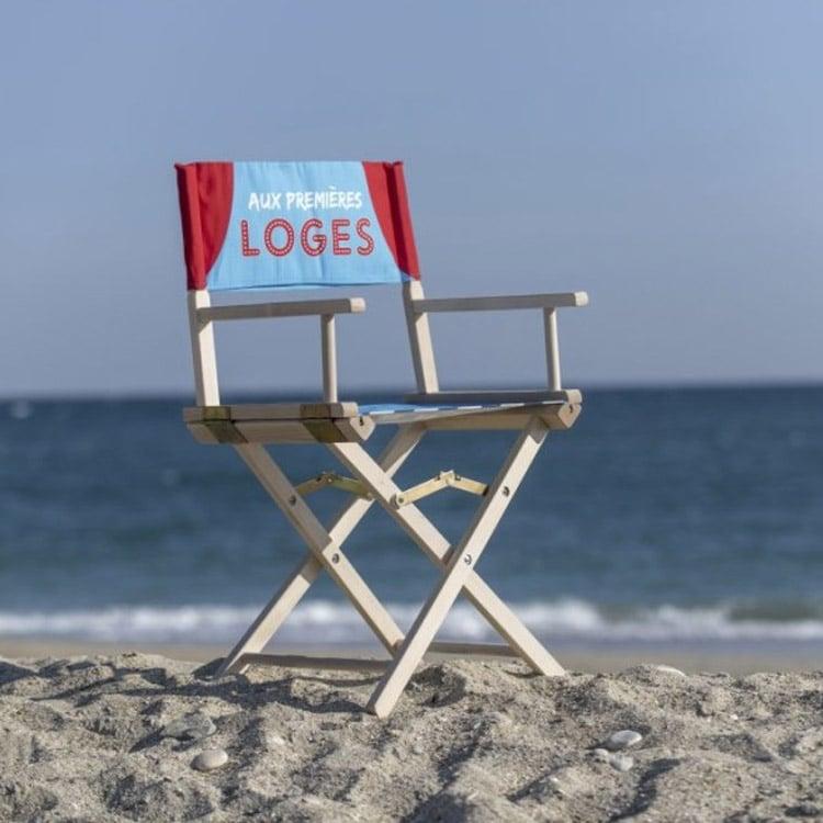 Chaise pliable cinéma