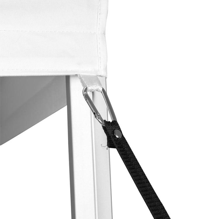 Cordes d'attache avec mousqueton pour tente parapluie